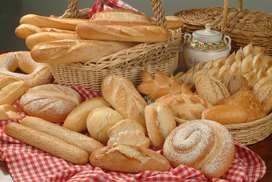 Busco panadero con experiencia