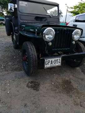 Se vende jeep willis