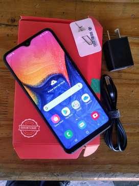 Samsung A10 azul usado en muy buen estado.