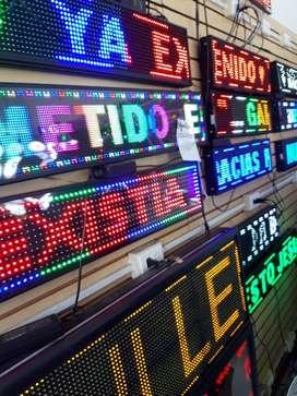 Letreros luminosos led