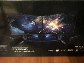 Vendo monitor gaming curved