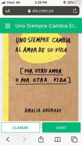 Uno Siempre cambia el Amor Libros Nuevo