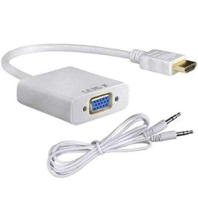 Cable convertidor de HDMI a VGA con audio activo