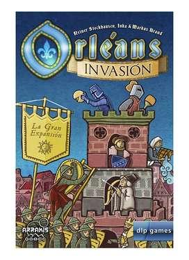 juego de Mesa Orleans Expansion invasión