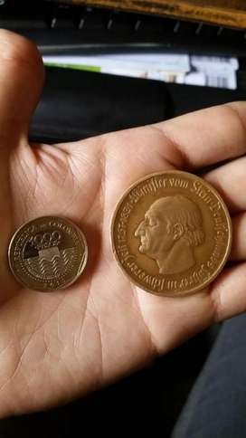 Vendo Moneda antigua 10000 mark aleman 1923