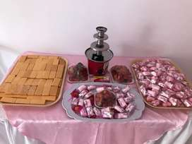 Alquiler de Fuentes de Chocolate Crispet