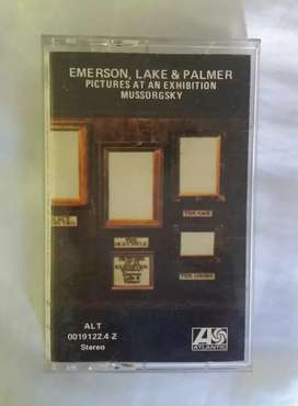 Emerson lake and palmer cassette original pictures at an exhibition mussorgsky