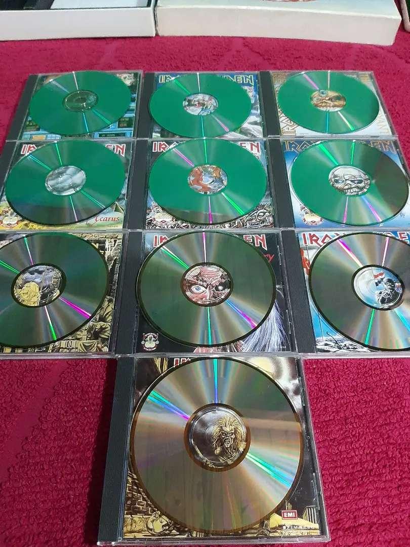 COLECCION DE 10 CD's DE MAIDEN