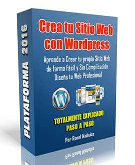 Curso Online diseño Pagina Web con Wordpress Video Tutorial aprende a crear Sitio Web en solo horas y en Casa