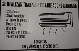 Aires acondicionado instalaciones y servicr