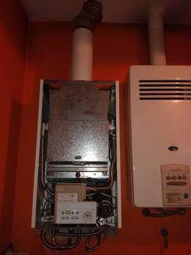 Reparación y mantenimiento de calderas y radiadores para calefacción