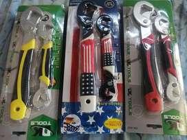 Llaves universal para tuercas y tornillos
