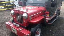 Wilis 54 Alargado , con ruta y motor turbo diesel