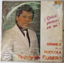 Disco Vinilo LP Segundo Rosero Quizás pienses en mí