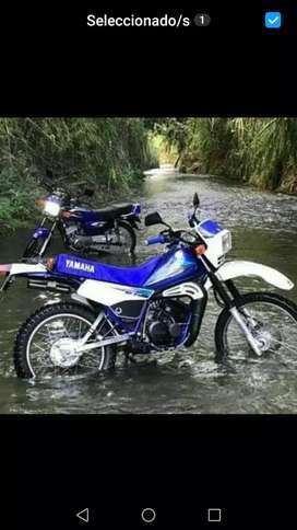 Vendo hermosa Dt 125 seguro nuevo o se cambia por otra moto