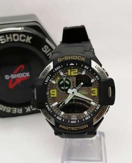 Reloj casio g shock aviator, ga promoción