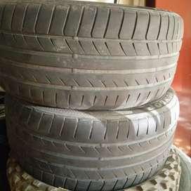 Cubiertas 245 45 17 Dunlop líquido