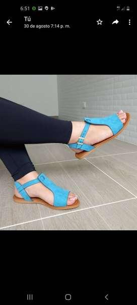 Hermosas sandalias para dama y ñina