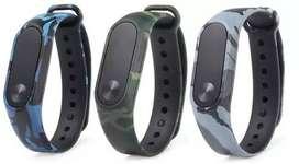 Banda Pulso Repuesto Silicona Camuflado Para Xiaomi Mi Band 2 Reloj Smartband