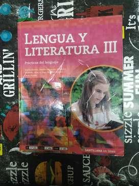 Vendo Libro De Lengua Y Literatura III