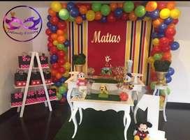 Servicio de decoración, animación, fiestas infantiles, decoracion para todo tipo de eventos recreación y recreacionista