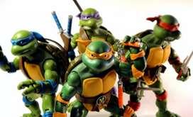 tortugas ninjas set figuras