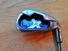 Hierros Callaway X18R, 5 al S (7), Acero Uniflex, grips Golf Pride