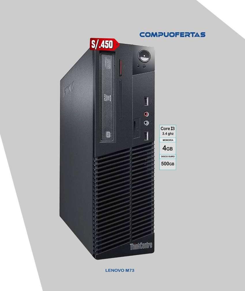 Lenovo M73 Core i3 de 3.4Ghz (4ta.Gen.) 0