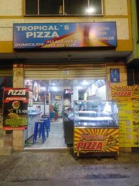 Pizzería y restaurante de comidas rápidas