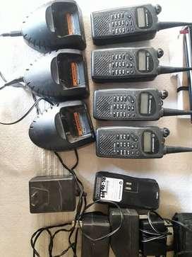 Kit 4 handy Motorola Pro-2150 (Usados en Nextel)