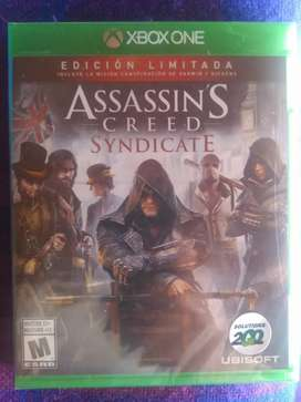 Vendo Assasins Creed Syndicate Xbox One