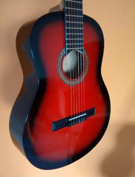 Guitarra Criolla Roja