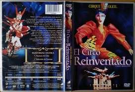 Cirque Du Soleil - El Circo Reinventado 2008 (DVD Original)