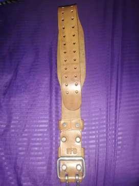 Cinturón pesas