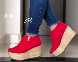 Zapatos Zuela Yute Altos