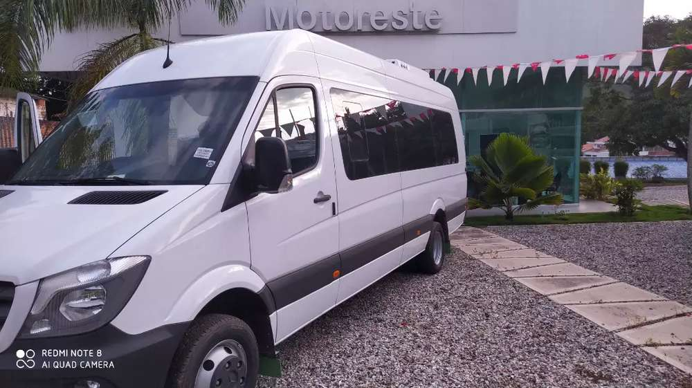 mercedes sprinter modelo 2020 full equipo