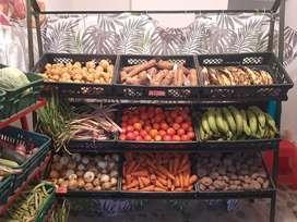 Vendo estanteria para Fruver