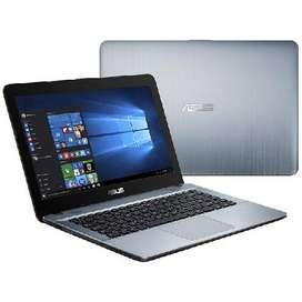 NOTEBOOK ASUS X441BA AMD A6/9225 14″ 4GB RAM 500GB WIFI PLATEADA