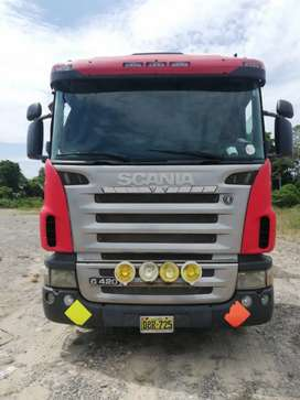 Tracto Scania G420 2009 muelle .scania 2007 R400.