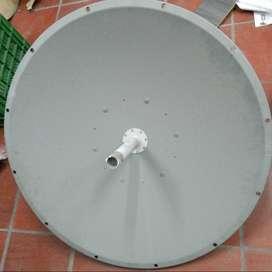 Antena parabólica de doble polarización de 4,9-5,8GHz con montura, 3 pies, 32 dBi, 4 grados