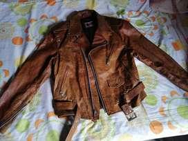 Chamarra Miel Vintage Nueva Talla M