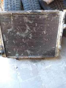 Radiador Peugeot 604 año 80 con electroventilador
