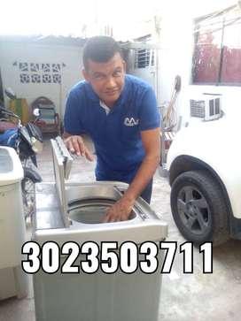 Reparación y mantenimiento de toda clase de lavadoras y estufas.