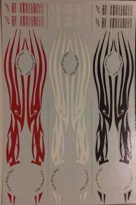 Tribal Stripes Tuner Calcas Para Auto Maqueta