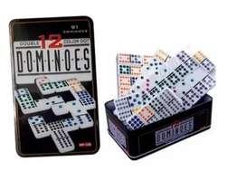 Domino Doble 12-12 Profesional 91 Piezas Para 12 Jugadores