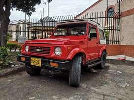 Chevrolet samurai 4x4 placas de Bucaramanga