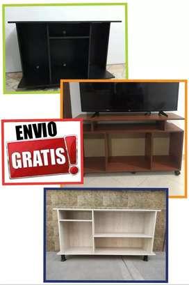 New colección mueble de tv para tv gigantes todos los tamaños