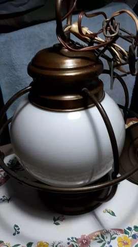 Colgante de bronce globo tipo quinquel