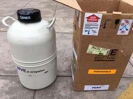 Tanque criogenico MVE 20 litros nitrogeno liquido