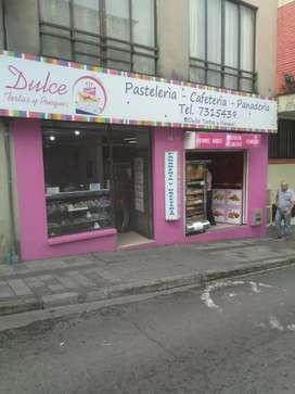Vendo panadería/cafetería/pastelería